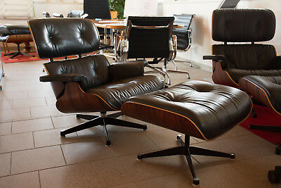 Charles Und Ray Eames Lounge Chair Von Vitra   Herman Miller Restaurationen