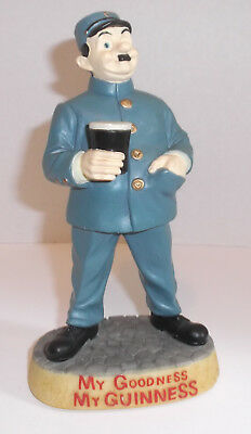 "MY GOODNESS MY GUINNESS Resin Uniformed Zookeeper Figure 7"" Advertising Icon"