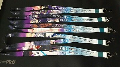 Anime Expo 2018 - Fate Grand Order Complete Lanyard Set WTF