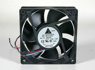 "Tech BD126018HB 12V Brushless 1 /& 3//4/"" Round Cooling Fan 12VDC @ 0.35A Y.S"
