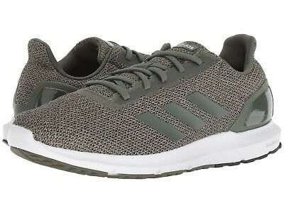 Men's Adidas® Cosmic 2 B44733 Green Synthetic Running W/Ortholite® Shoes Sz