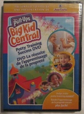 Huggies Pull-Ups Big Kid Central : Potty Training Success DVD (DVD, 2008) NEW