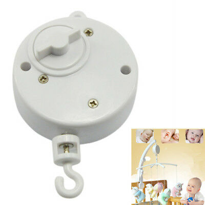 Toddler Mobile Crib Bed Clockwork Movement Music Box Infant Bell Hanger Toy