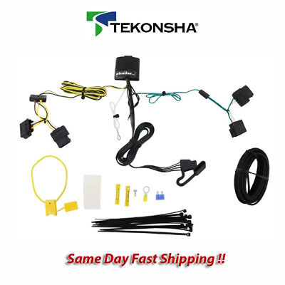 Swell Tekonsha 118551 Trailer Tow Hitch Wiring Harness Kit T One Connector Wiring Digital Resources Ommitdefiancerspsorg