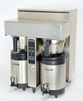 Fetco CBS-2032e EXTRACTOR Twin Dual Coffee Brewer Machine Old Style Spray Heads