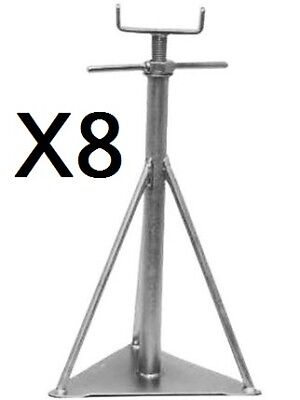 """625mm  18/"""" x 24/"""" 1//2 Siting Support 460mm Static Caravan Axle Stands X 6"""