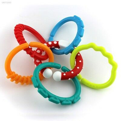 Infants Baby Teether Ring Chain Teeth Development Baby Care Infants Supply 45DD