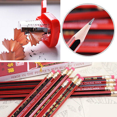 Wooden Drawing Writing Art Pencil Office School Supplies HB Stationery 6213