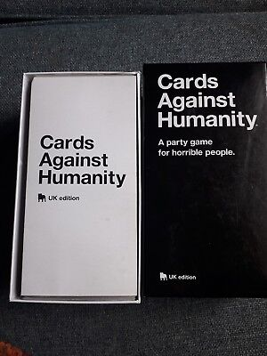 Cards Against Humanity Uk Edition Board Playing Birthday Party Card