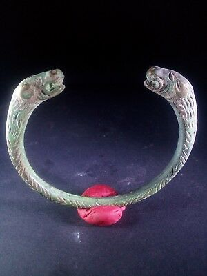 Ancient Roman Bronze Bracelet