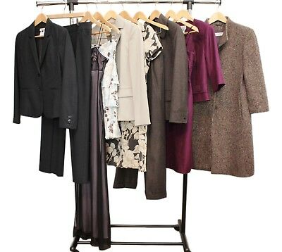 Lot of 11 Pieces Designer Clothing Size 4 Barneys, Tahari, Cinzia Rocca, Talbots