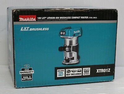 Makita XTR01Z 18V LXT Li-Ion Brushless Compact Router (Tool Only)