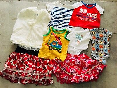Children Mix clothes 100 LBS Lot 0-6 Assorted brand size, colors Girls and Boys