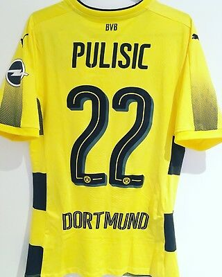 *BNWT* 17/18 Dortmund ACTV Player Issue Shirt #22 Pulisic Size M