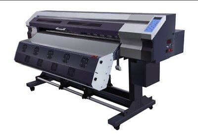 Wide format printer 1.8 mts 70 inches Eco solvent - Sublimation USA SELLER