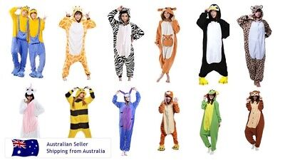 Onesies Adult Kids Animals one piece jumpsuit pyjamas Sleepwear Unisex Gerber