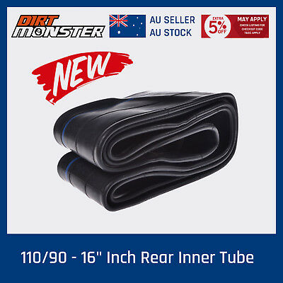 "110/90 - 16"" inch Rear Inner Tube 50-150cc PIT PRO Trail Dirt Bike Motorcycle"