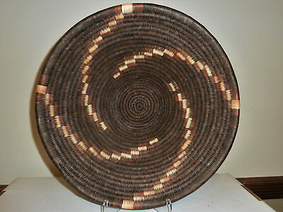 High Quality, Tightly Woven Botswana Basket - Finely Crafted with Rich Colors