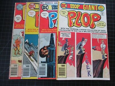 Dc Plop #21-24 Htf Series All Giant-Size Last 4 Issues