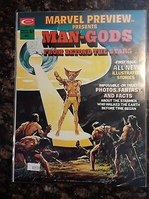 Marvel Preview Presents Man-God Issue 1