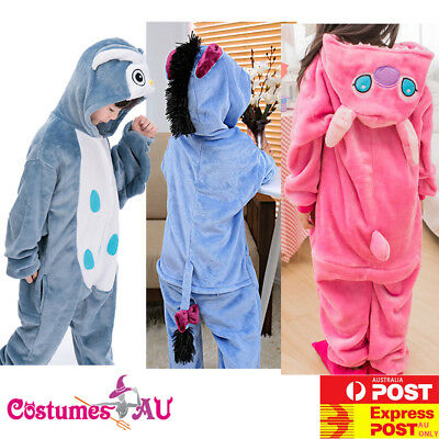 Animal Unisex Boys Girls Kids Kigurumi Cosplay Costume Pyjamas Pajamas Sleepwear