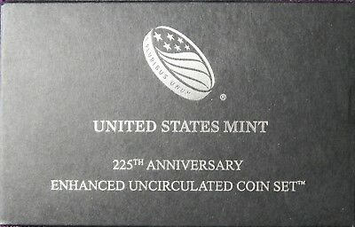 2017 225th ANNIVERSARY ENHANCED UNCIRCULATED COIN SET (w/MUST SEE MINT ERROR)