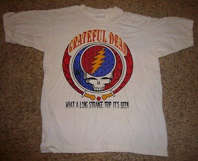 e0ebe2e11a2d Grateful Dead Vintage Concert T Shirt From 1992 Tour From Concession Stand