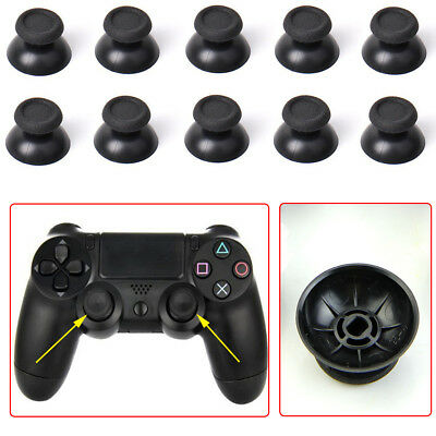 10PCS Black Replacement Controller Analog Thumbsticks Thumb Stick for Sony PS4
