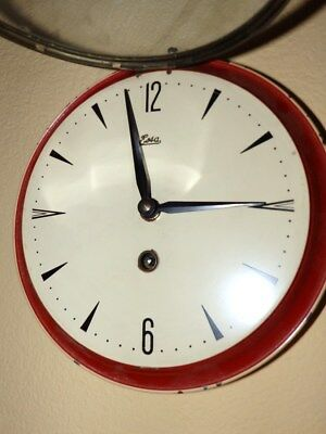 Kitchen Clock With Key Windup Mechanical Movement Funktion Is Ok