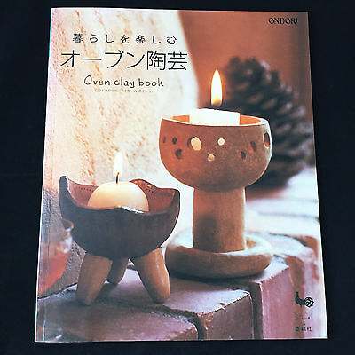 Oven Bake Clay Book Ceramic Art Works / Japanese Handmade Craft Book