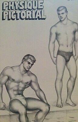 Physique Pictorial volume 13 number 1 1963 gay interest Magazine