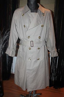 1b8f95686 BURBERRY RUNWAY BEIGE Authentic $3100 Trench Coat Size XL ...