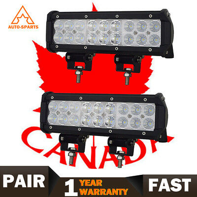 10inch LED Light Bar Spot & Flood Combo Off road Truck Boat Jeep Ford SUV ATV