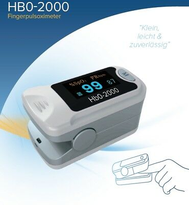 Hb0-2000 Pulsoximeter Pulsoxymeter Finger Puls Oxi Oximeter  Pulsoxy  DeVilbiss