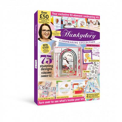 Hunkydory BOX MAGAZINE ISSUE 5 With FREE £50 Cardmaking Goodies Kit & Discounts