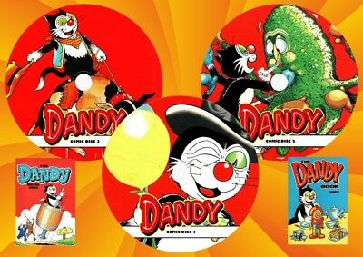 Dandy Comics + Specials + Annuals On Three DVD Rom's