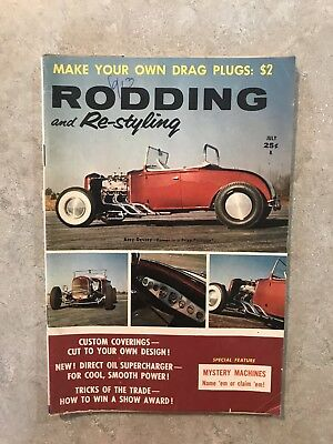 Rodding And Restyling July 1959