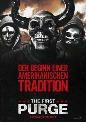 The First Purge ~ Filmposter A1 - Kino