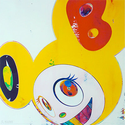 oil painting reproduction takashi murakami dob yellow made to order pop art