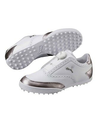 2018 PUMA MONOLITE Cat Disk Ladies Spikeless Golf Shoes - RRP£80 UK5   UK6  - EUR 63 79f42fc5c