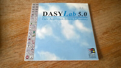 DASYLab 5.02 Data acquisition system laboratort