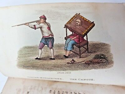 1812 CHINA, Its Costume, Arts - Vol 4 with 18 COLOUR PLATES