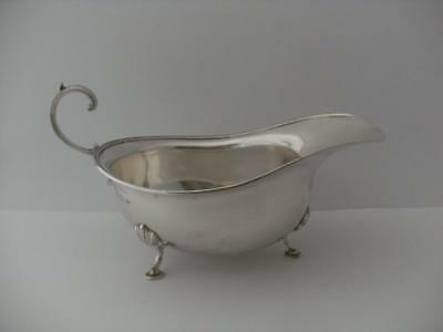 Beautiful Sterling Silver SAUCE GRAVY BOAT Birmingham 1919