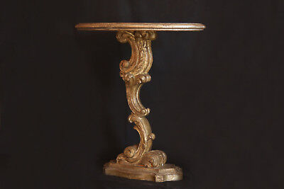 Guéridon, table d'appoint, Piètement Louis XIV