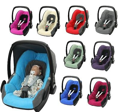 Car Seat Cover fits Maxi Cosi PEBBLE 0+ FULL SET  NEW Supersoft plush fabric
