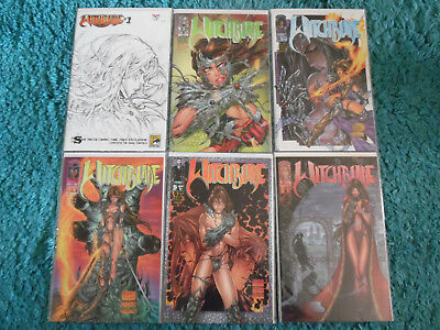WITCHBLADE #1-18 *** Image Comics *** Witch Blade Collection