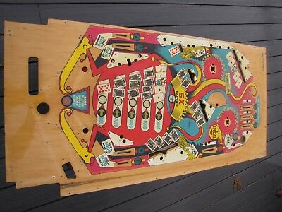 Joker Poker Pinball playfield