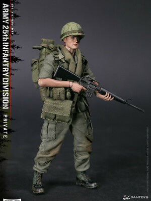 Pre-order DAMTOYS  1/12 POCKET ARMY 25th Infantry Division Private PES004