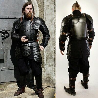 Dark Drake Metal Armour Set, Ideal for Costume or LARP Events