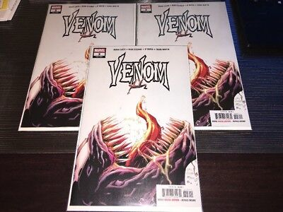 VENOM #3 1ST APPEARANCE KNULL SYMBIOTE GOD DONNY CATES 1ST PRINT 2018 Marvel HOT